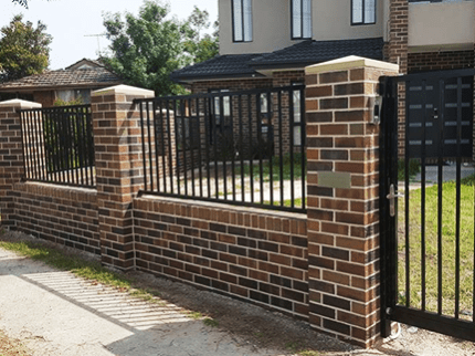 Brick Fencing Img
